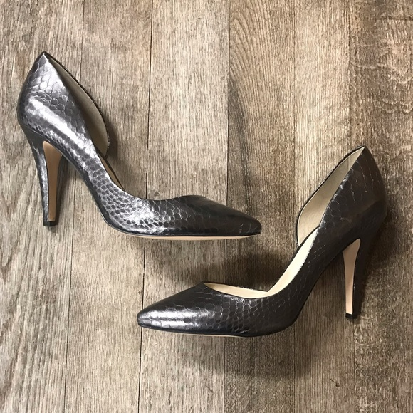 BGBGeneration Size 10M Snakeskin Style Heels